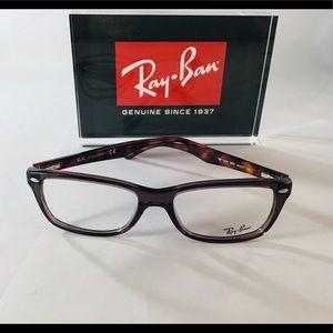 Ray-Ban RX5228 5628 Opal Brown Eyeglasses